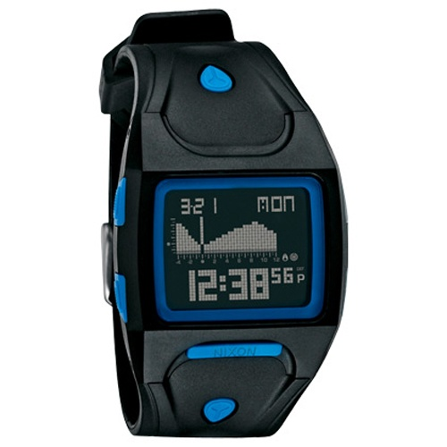 Nixon Lodown (Black/Blue)