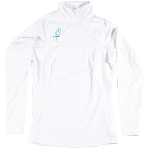 Xcel Womens Solid L/S Shirt (White)
