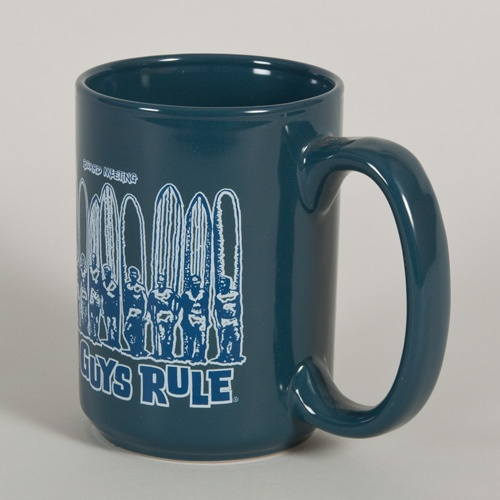 Old Guys Rule Board Meeting Mug (Blue)