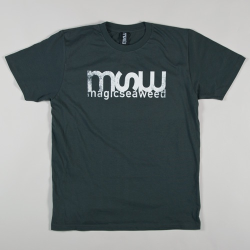 MSW Logo Distressed T-Shirt (Dark Grey)