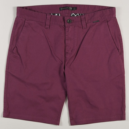 Quiksilver Twisted Short (Eggplant)