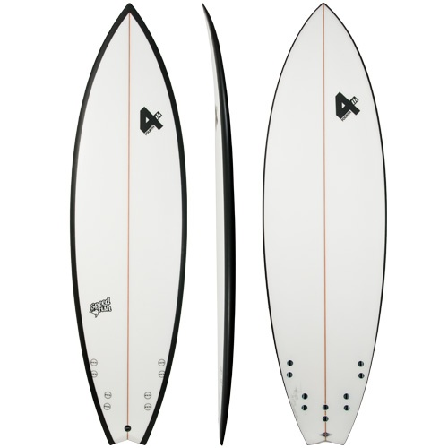 Fourth Speed Fish (Black) Surfboard