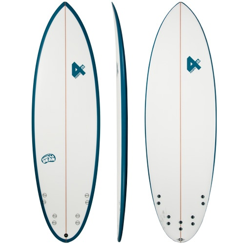 Fourth Chilli Bean (Blue) Surfboard