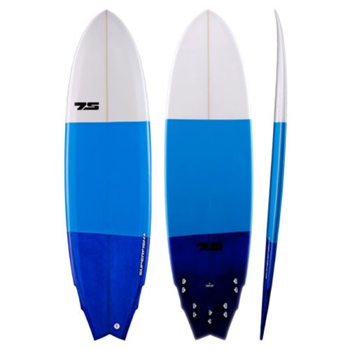 7S Super Fish 2 (Poly) 2013 Surfboard