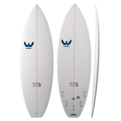 Webber Gutter Lover (SLX) 2012 Surfboard