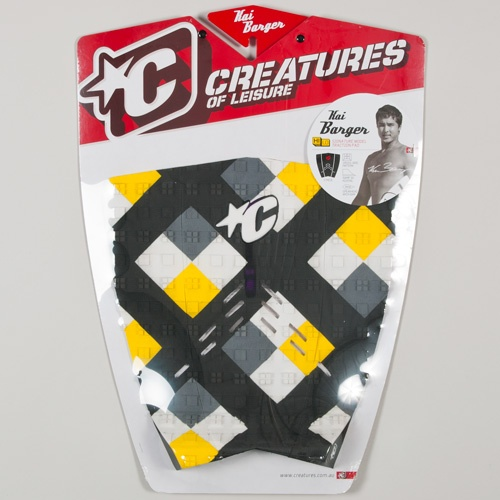 Creatures Kai Barger (Yellow/White) 2012 Tailpad