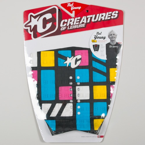 Creatures Nat Young (Blue/Magenta) 2012 Tailpad