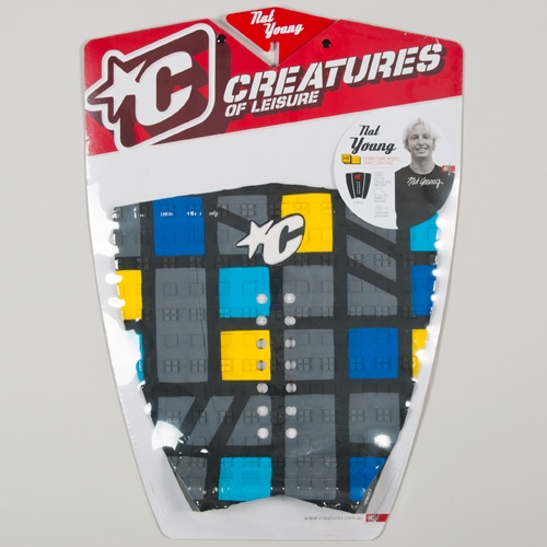 Creatures Nat Young (Grey/Yellow) 2012 Tailpad