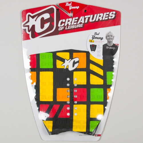 Creatures Nat Young (Yellow/Orange) 2012 Tailpad