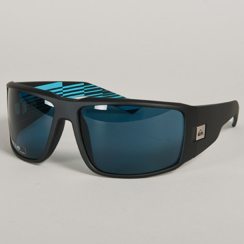 Quiksilver Slab (Black Fi/ Grey) 2012 Sunglasses