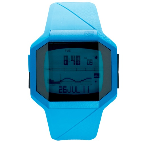 Quiksilver Addictiv Watch (Blue Strap/Blue Face)