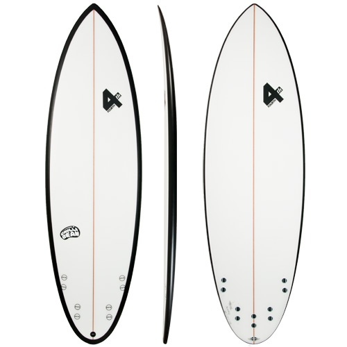 Fourth Chilli Bean (Black) Surfboard