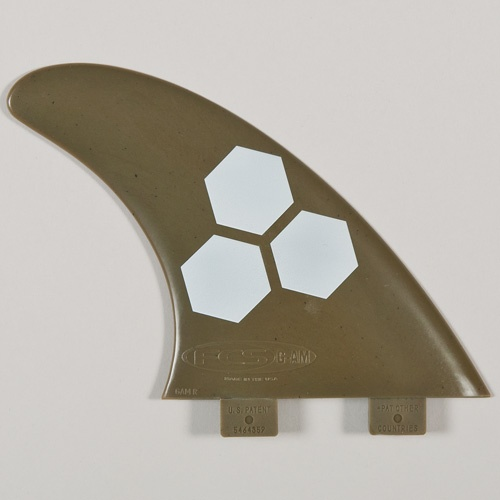 FCS GAM Green Flex Thruster Fin Set