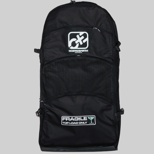 O&E Triple Wheelie Bodyboard Travel Bag