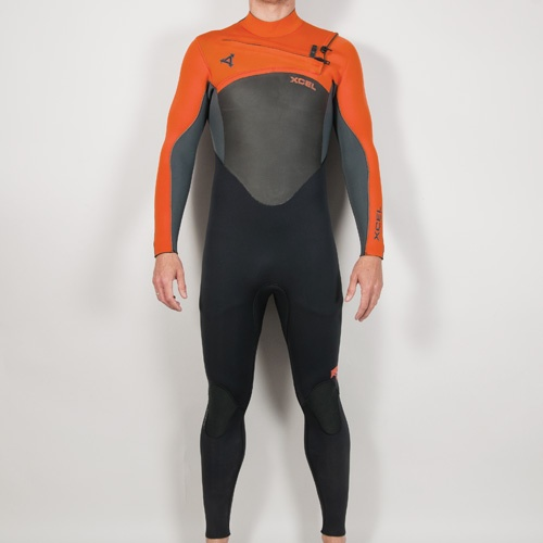 Xcel Mens 5mm X-Flex (Orange) 2013 Wetsuit