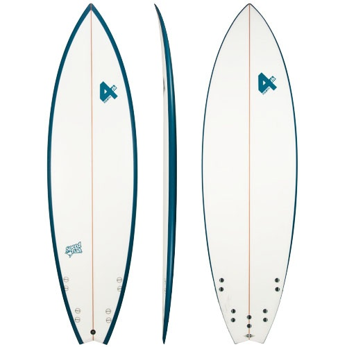 Fourth Speed Fish (Blue) Surfboard