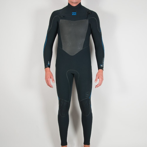 Billabong Mens 5mm Xero Furnace  (Blk/Ocean Blue) Wetsuit
