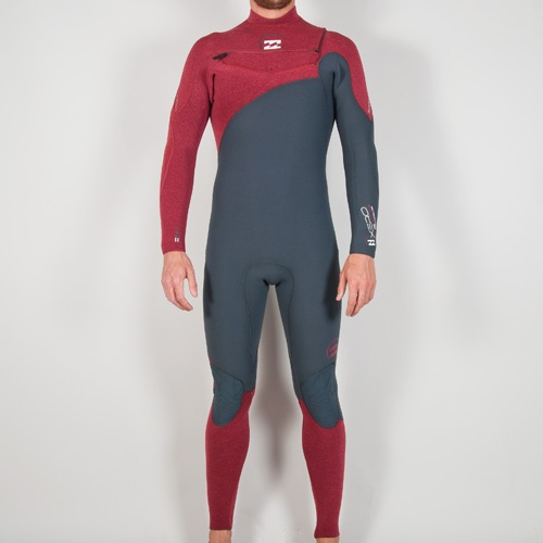 Billabong Mens 5mm Xero Pro (Graphite/Red CL) Wetsuit