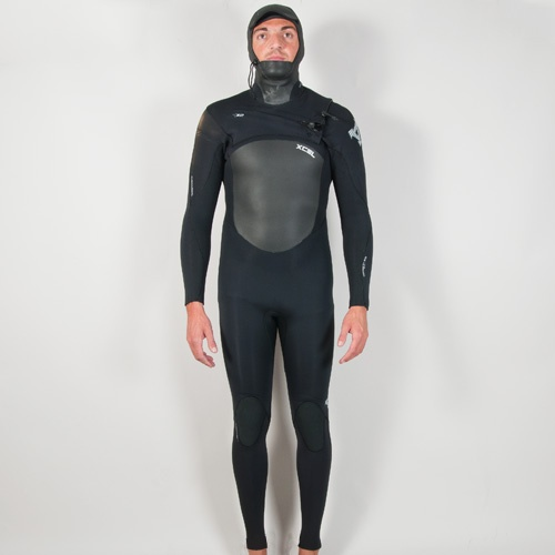 Xcel Mens 6mm Infiniti Hooded (Black) Wetsuit