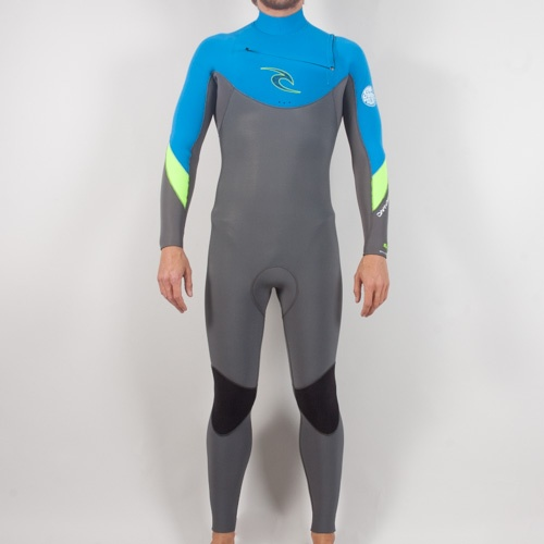 Rip Curl Mens 5mm Dawn Patrol GB (Charcoal) Wetsuit