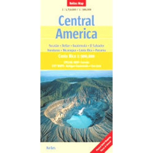 Nelles Map of Central America Book