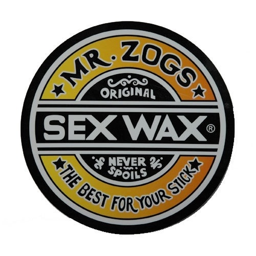 Sex Wax Round Sticker