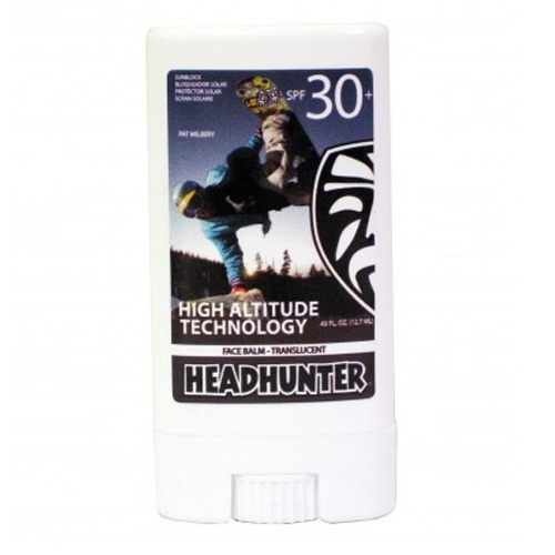 Headhunter SPF30 Snow Face Balm Stick