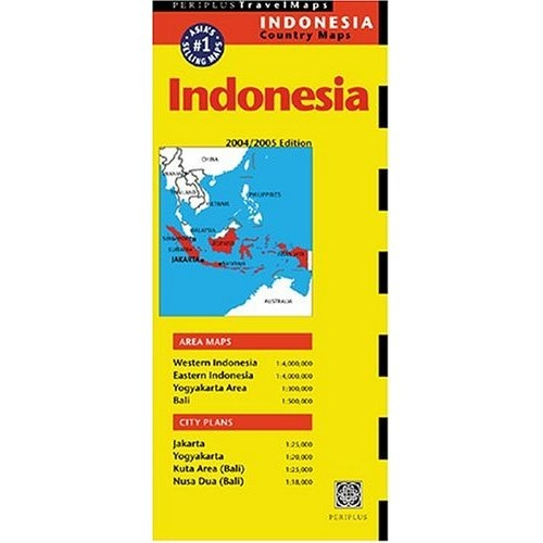 Periplus Map of Indonesia Book