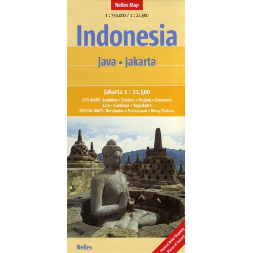 Nelles Map of Indonesia - Java and Jakarta Book