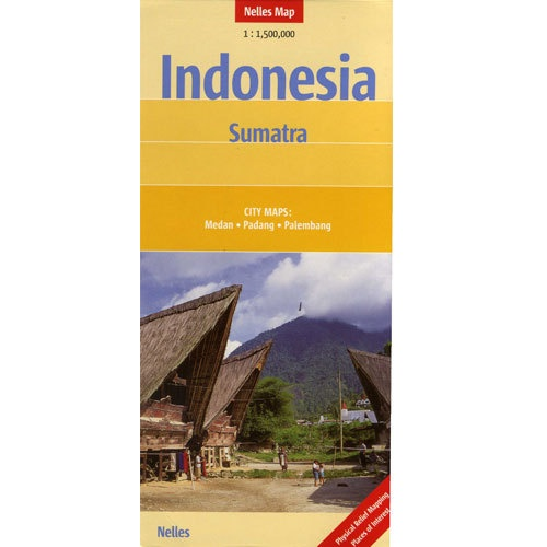 Nelles Map of Indonesia - Sumatra Book