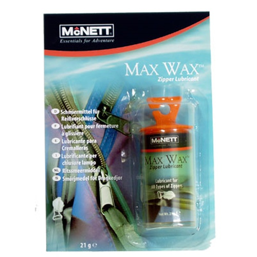 McNett Max Wax Zipper Lubricant