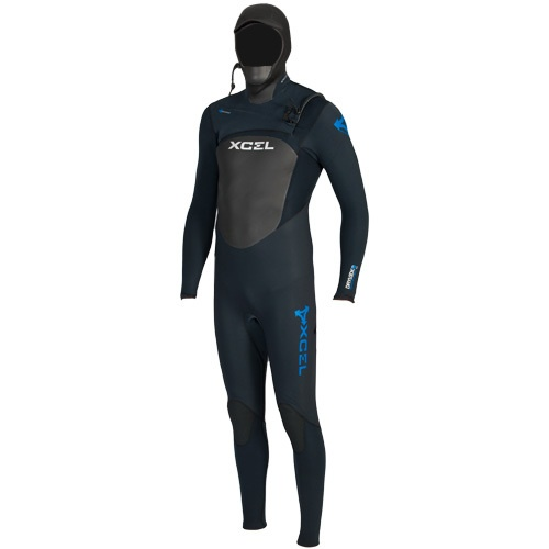 Xcel Mens 4mm Infiniti Drylock Hooded (2012) Wetsuit