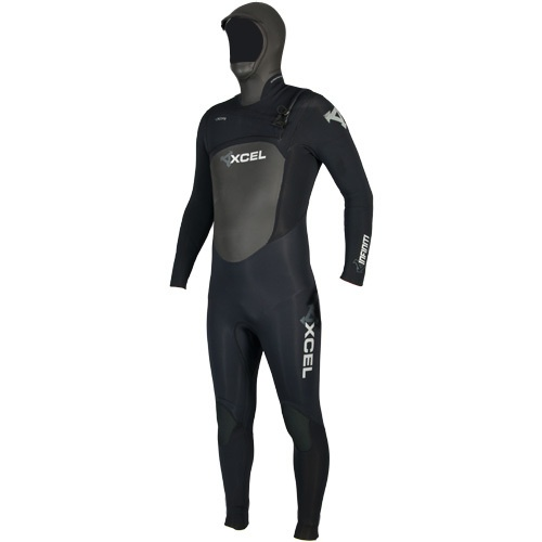 Xcel Mens 5mm Infiniti Hooded X-Zip (2012) Wetsuit