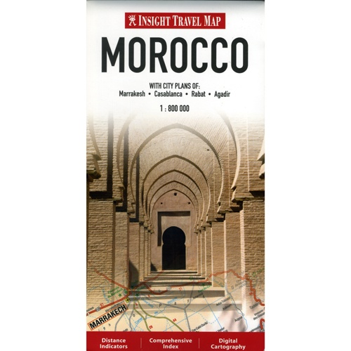 Insight FlexiMap of Morocco Book