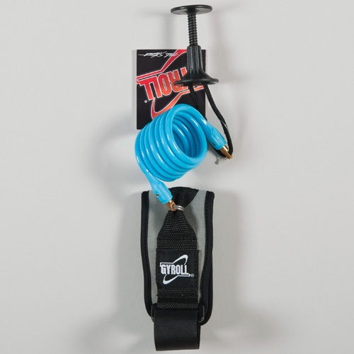 Science Gyroll Bicep Leash (Blue) Leash