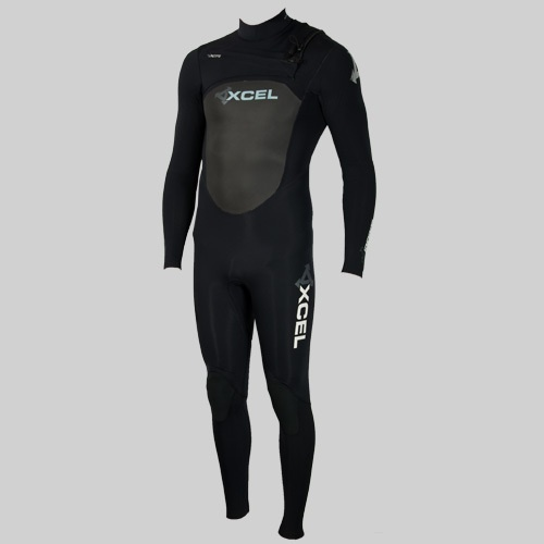 Xcel Mens 3mm Infiniti X-Zip2 (2012 Black) Wetsuit